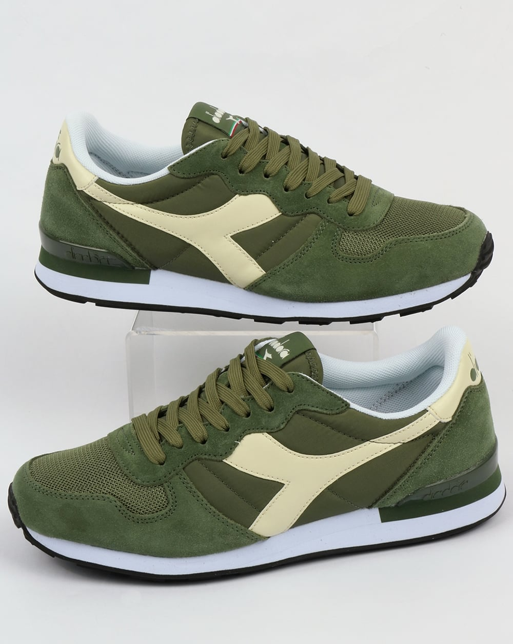 Diadora Camaro Trainers Olive,og,shoes,runners,mens