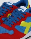 Diadora Camaro Trainers Red/blue/yellow