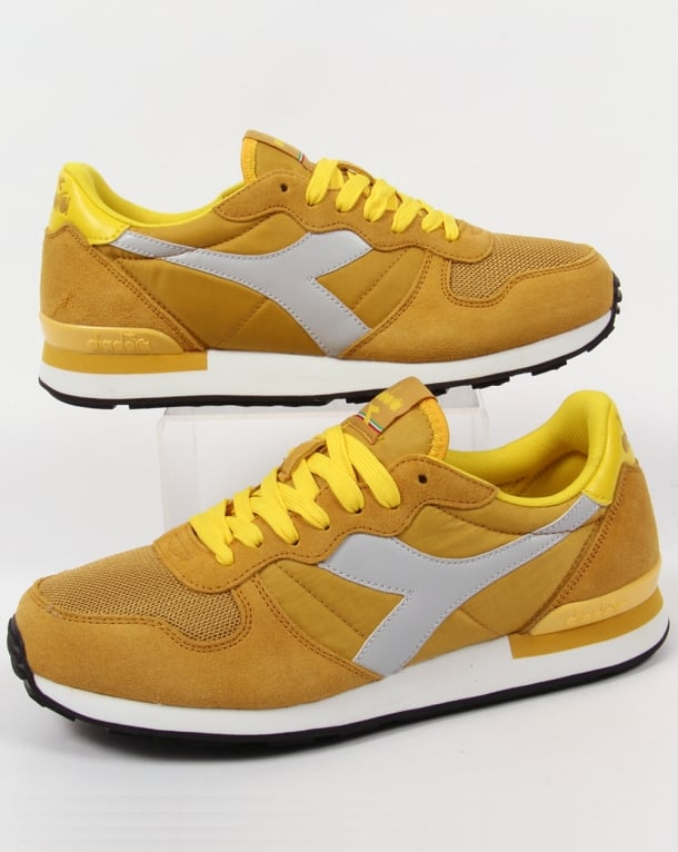 Diadora Camaro Trainers Yellow/grey