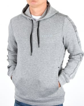 Diadora Evo Pwr Hooded Sweat Grey Melange