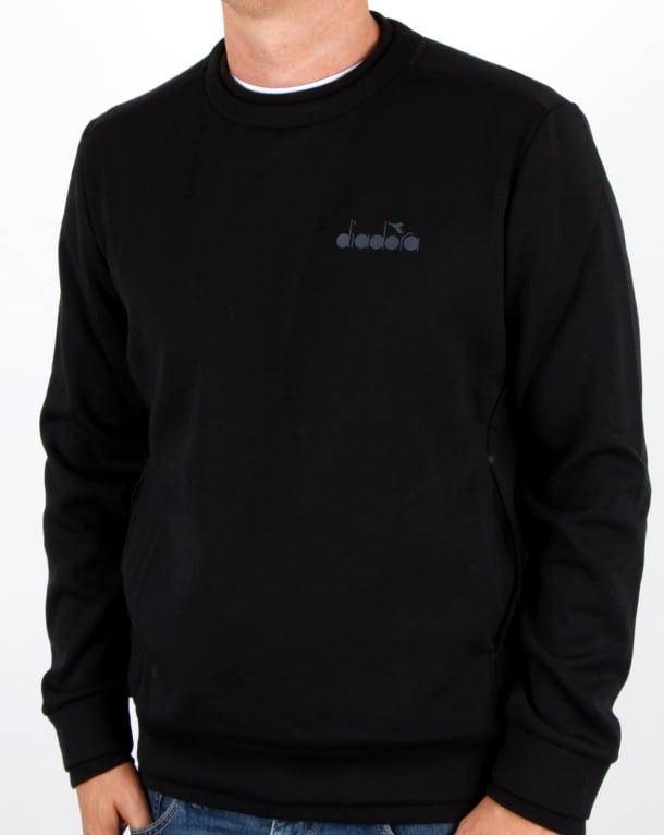 Diadora Evo Sweatshirt Black