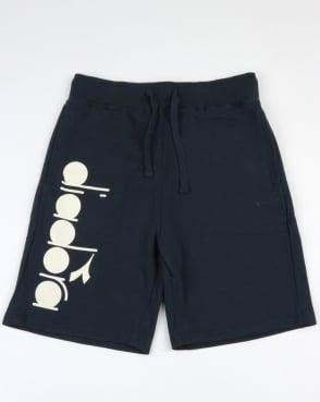 Diadora Fleece Shorts Blue Denim