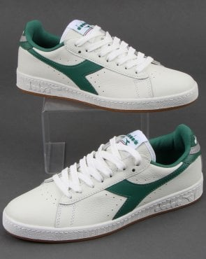 Diadora Game L Low Trainers White/green