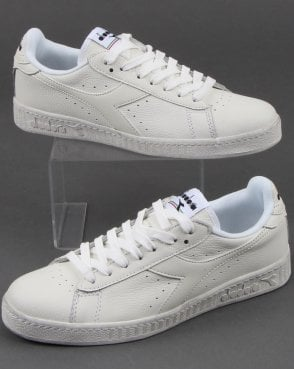 Diadora Game L Low Waxed Trainers White/white