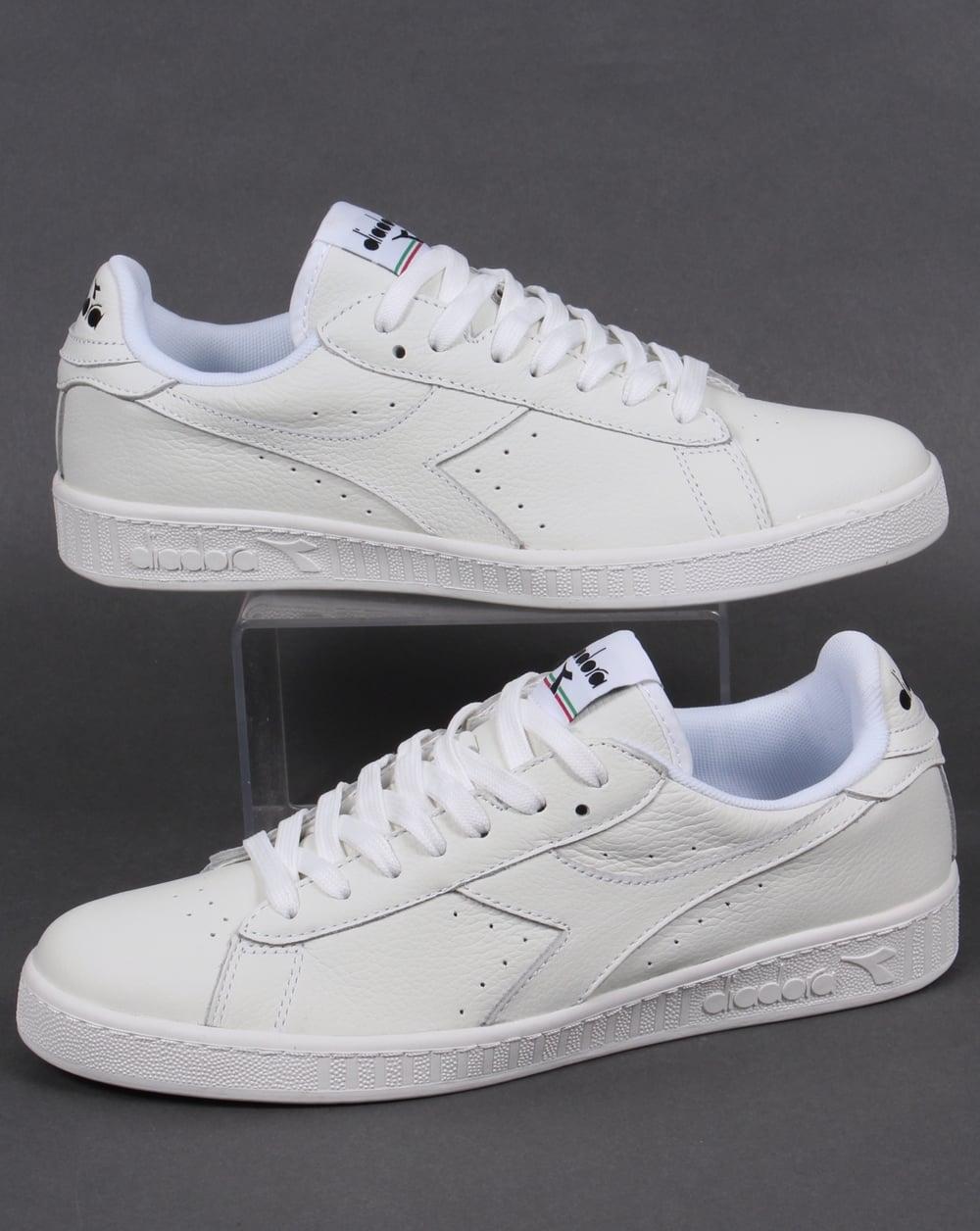 diadora white trainers shopping 72f13 b54e0