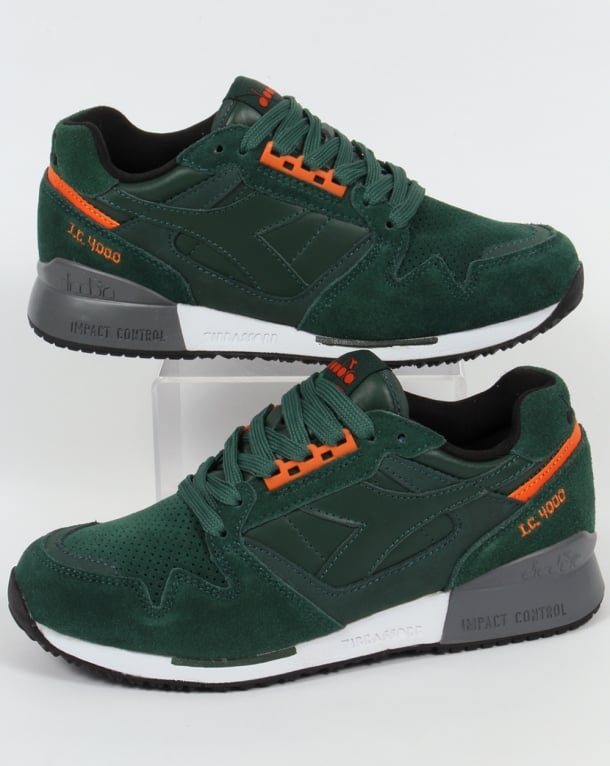 Diadora IC 4000 Premium Trainers Jungle Green