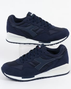 Diadora Intrepid NYL Trainers Saltire Navy