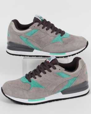 Diadora Intrepid Premium Trainers Grey Ash Dust