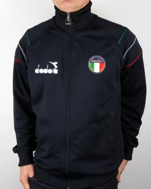 Diadora Italia 80s Track Top Blue Corsair