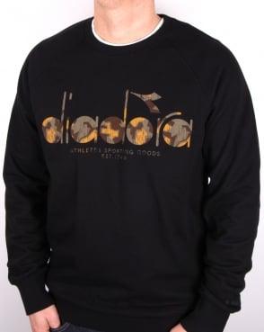 Diadora Logo Sweatshirt Black