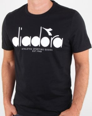 Diadora Logo T-shirt Black/optical