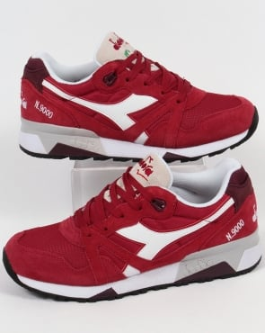 Diadora N9000 III Trainers Red