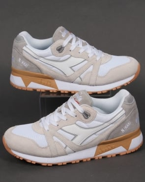 Diadora N9000 III Trainers White/High Rise