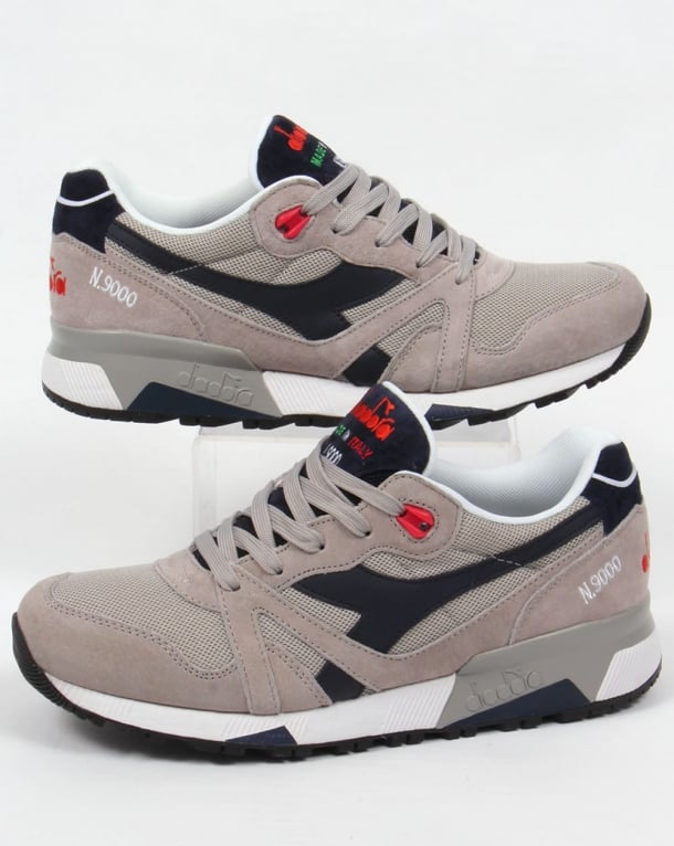 Diadora N9000 Italia Trainers Blue Nights/Paloma Grey