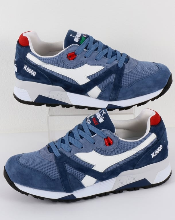 Diadora N9000 Made in Italy Trainers Blue