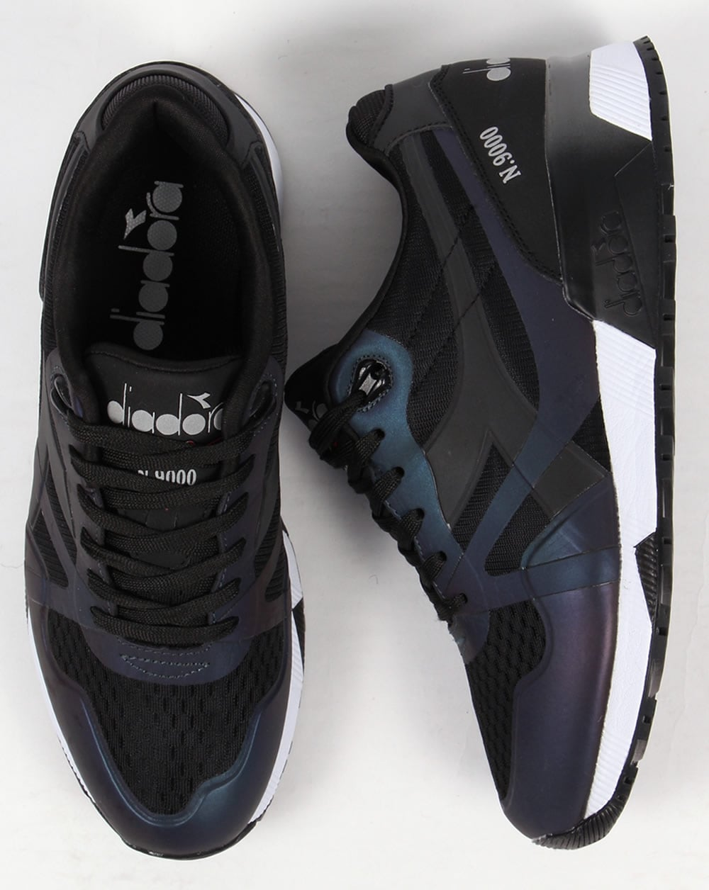 N9000 Hologram shoes sneakers Mm mens Trainers Diadora Black runners apfqdXw
