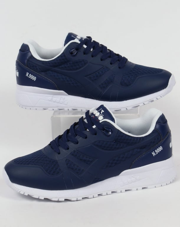 Diadora N9000 MM II Trainers Saltire Navy