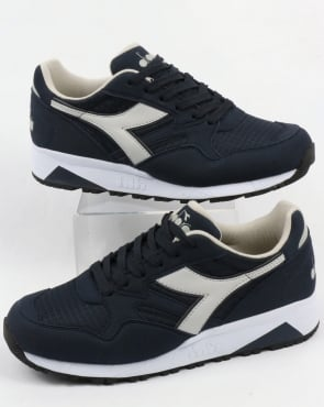 Diadora N902 Trainers Blue Denim/Grey