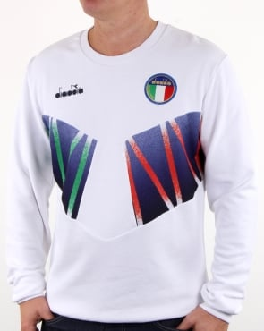 Diadora Rb94 Sweatshirt White