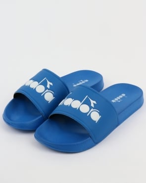 Diadora Serifos 90 Slides Royal Blue