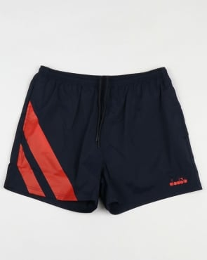 Diadora Serifos OG Shorts Blue/Red