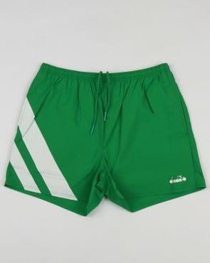 Diadora Serifos OG Shorts Green