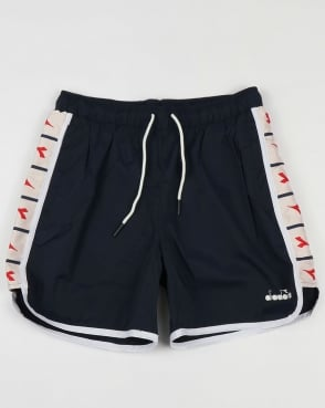 Diadora Serifos OG Tape Shorts Blue