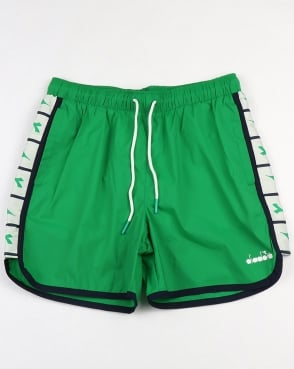 Diadora Serifos OG Tape Shorts Green
