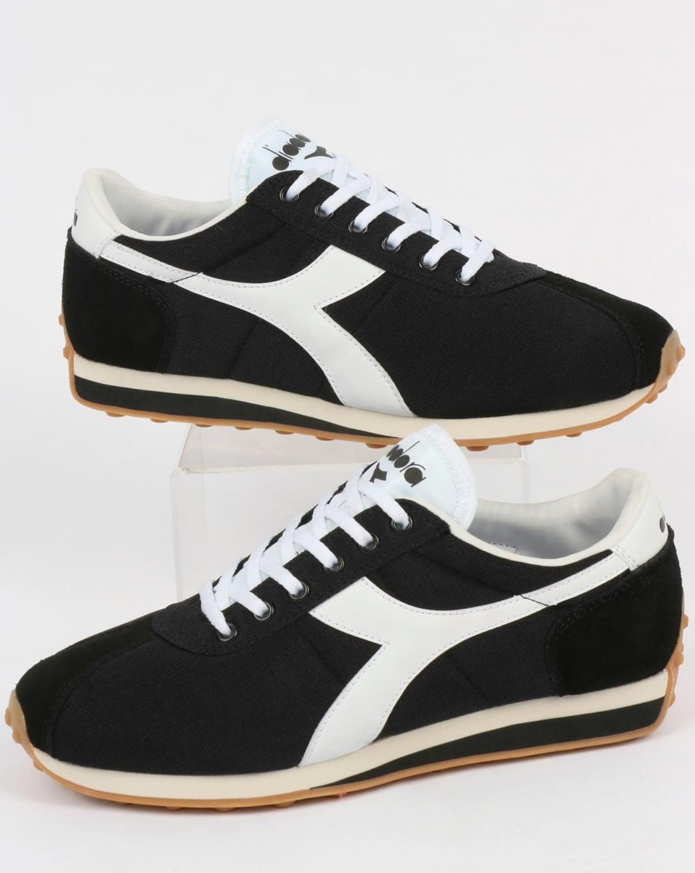 b0a45dad Diadora Sirio Trainers Black/White