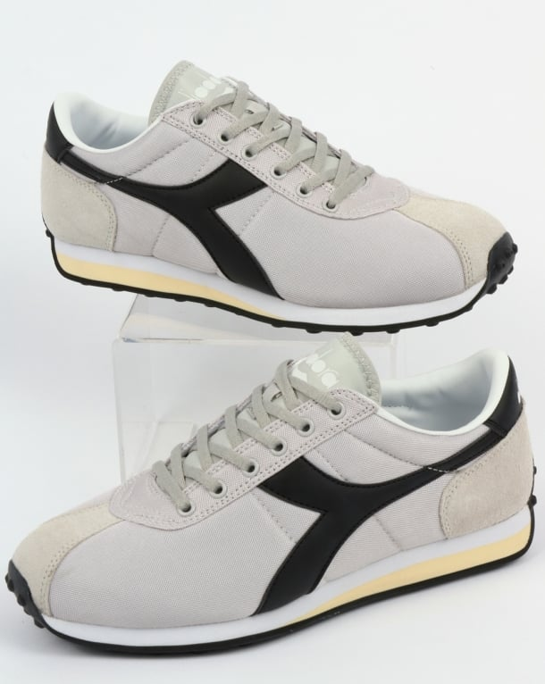 Diadora Sirio Trainers Light Grey/Black
