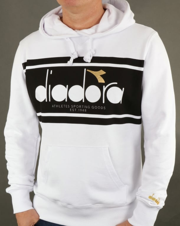 Diadora Spectra Hoody White/Black