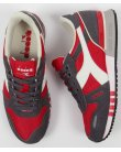 Diadora Titan II Trainers Roccoco Red/pewter