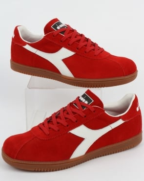 Diadora Tokyo Trainers Red/White