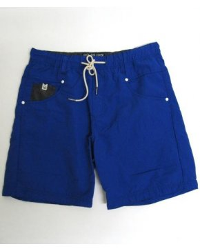 Duck And Cover Plean Swim Shorts Blue