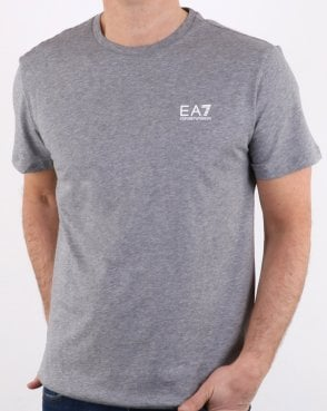 EA7 Core Tee Grey Marl