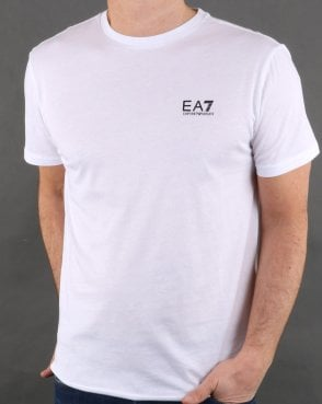Ea7 Core Tee White