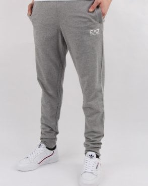 Ea7 Slim Fit Track Pants Grey Marl