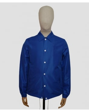 Edwin Coach Jacket Royal Blue