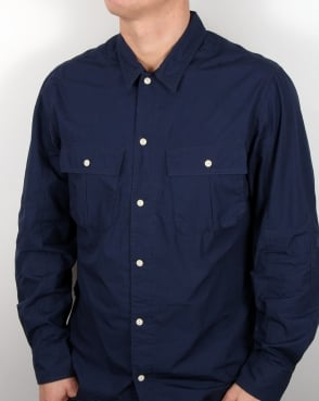 Edwin Jeans Edwin Corporal Shirt Navy