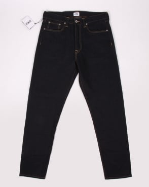 Edwin Ed-45 Loose Tapered Jeans Deep Blue Denim