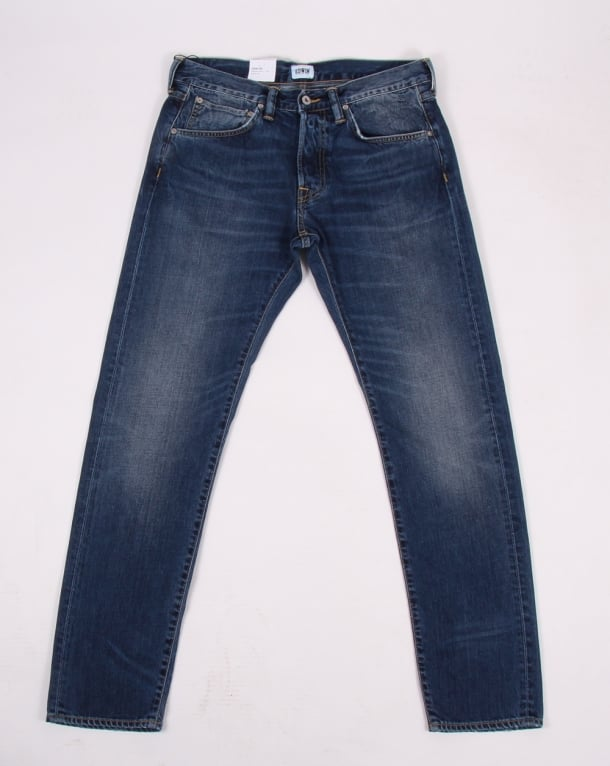 Edwin Ed-55 Jeans Blue Savage Wash