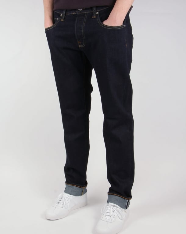 Edwin Ed-55 Regular Tapered Jeans Cs Red Listed Selvage Denim