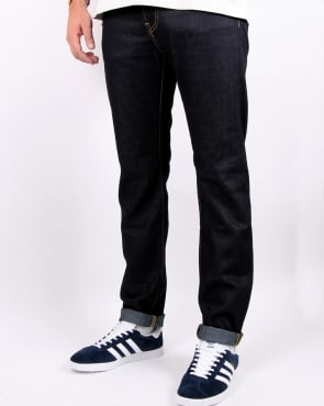 Edwin Ed-55 Regular Tapered Jeans Deep Blue Unwashed