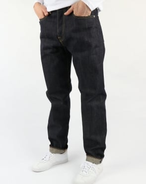 Edwin Jeans Edwin Ed-55 Regular Tapered Jeans Grime Dirt Wash