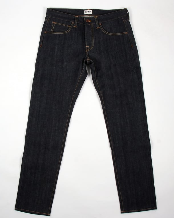 Edwin Jeans Edwin Ed-55 Relaxed Tapered Red Listed Jeans Blue