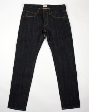 Edwin Ed-55 Relaxed Tapered Red Listed Jeans Blue