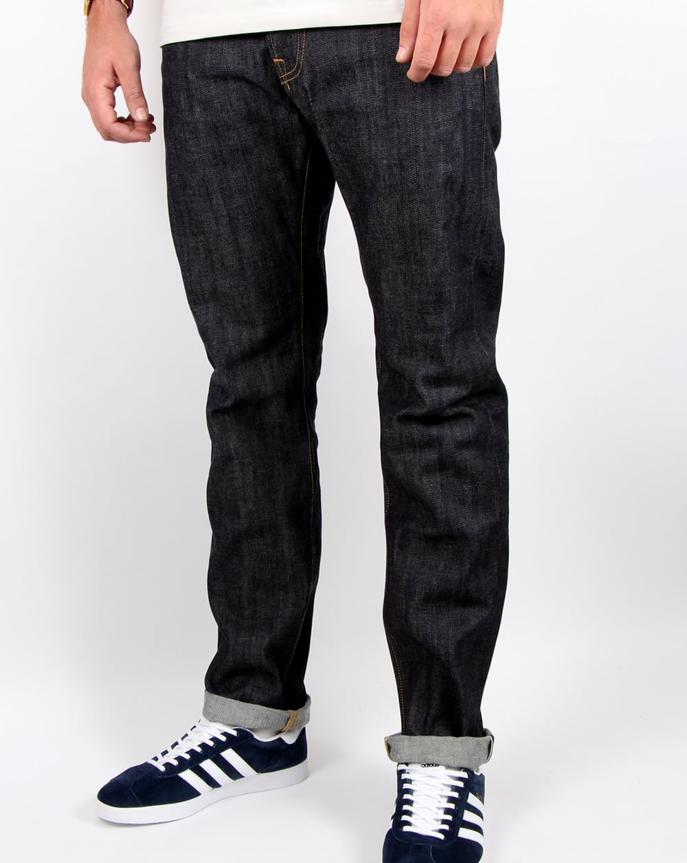 da3e9511 Edwin Ed-55 Selvage Jeans Red Listed Unwashed - Jeans & Cords from ...