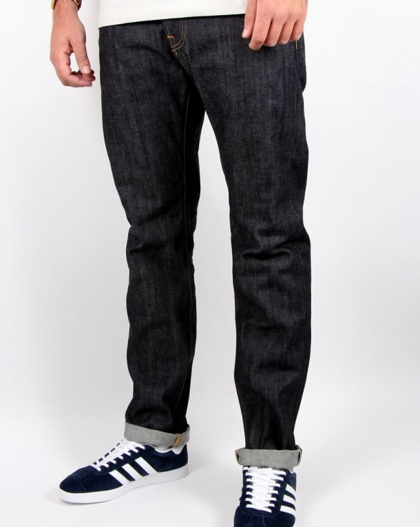 Edwin Ed-55 Selvage Jeans Red Listed Unwashed