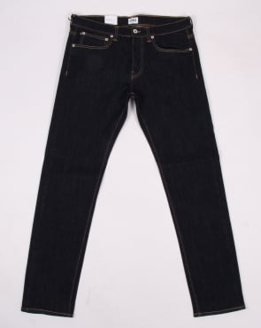Edwin Jeans Edwin Ed-80 Selvage Jeans Red Listed Rinsed