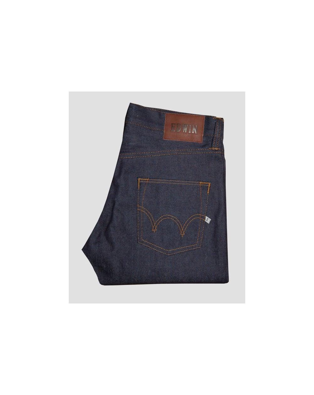 huge sale da858 fa37e Edwin Ed55 Jeans Compact Indigo Denim Navy
